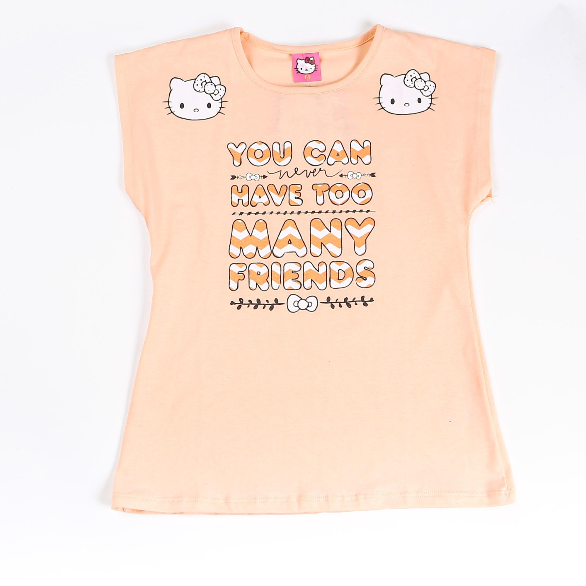 Blusinha Juvenil Menina Estampa Hello Kitty - Marlan