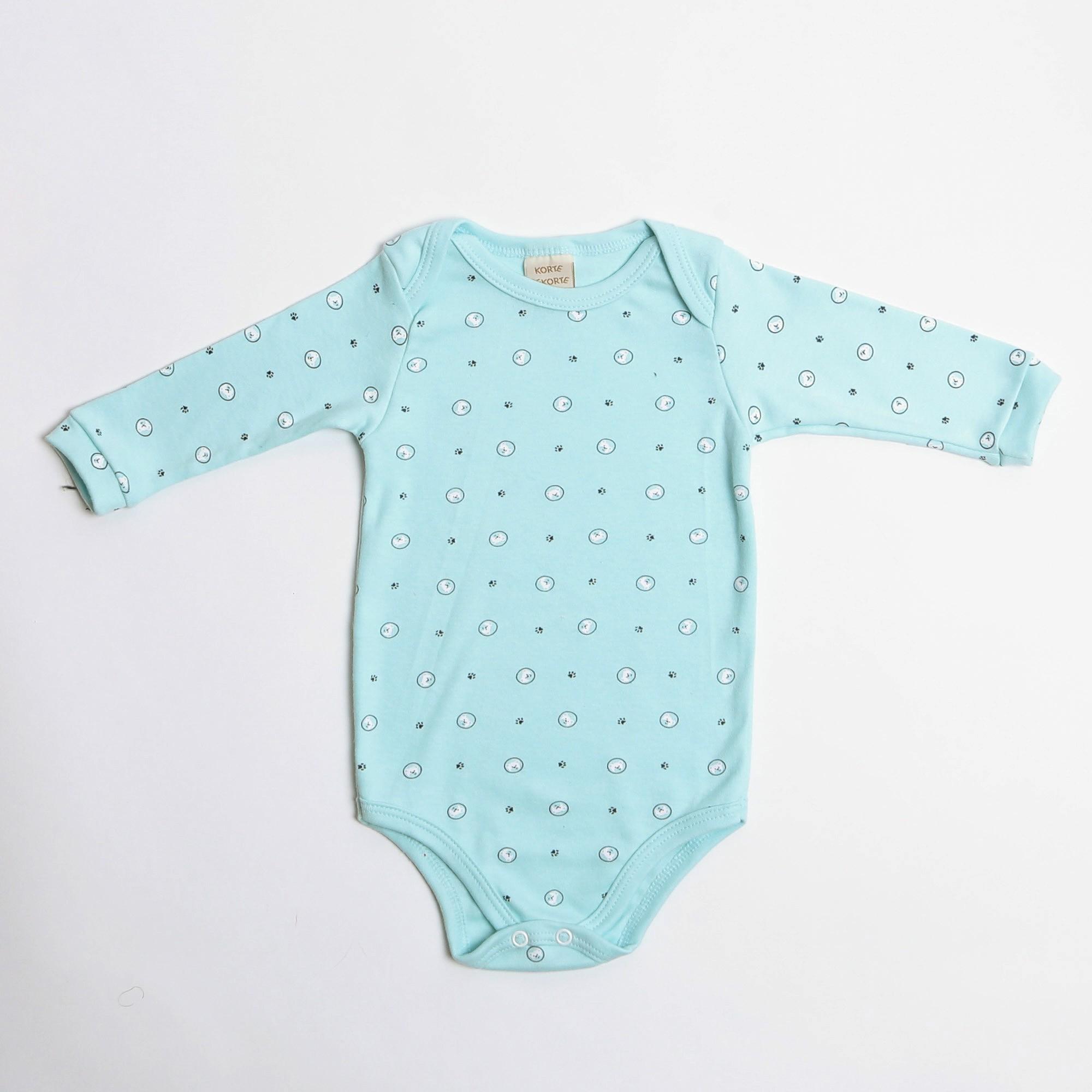 Body De Bebê Manga Longa Estampa Ursinhos - Korte Rekorte