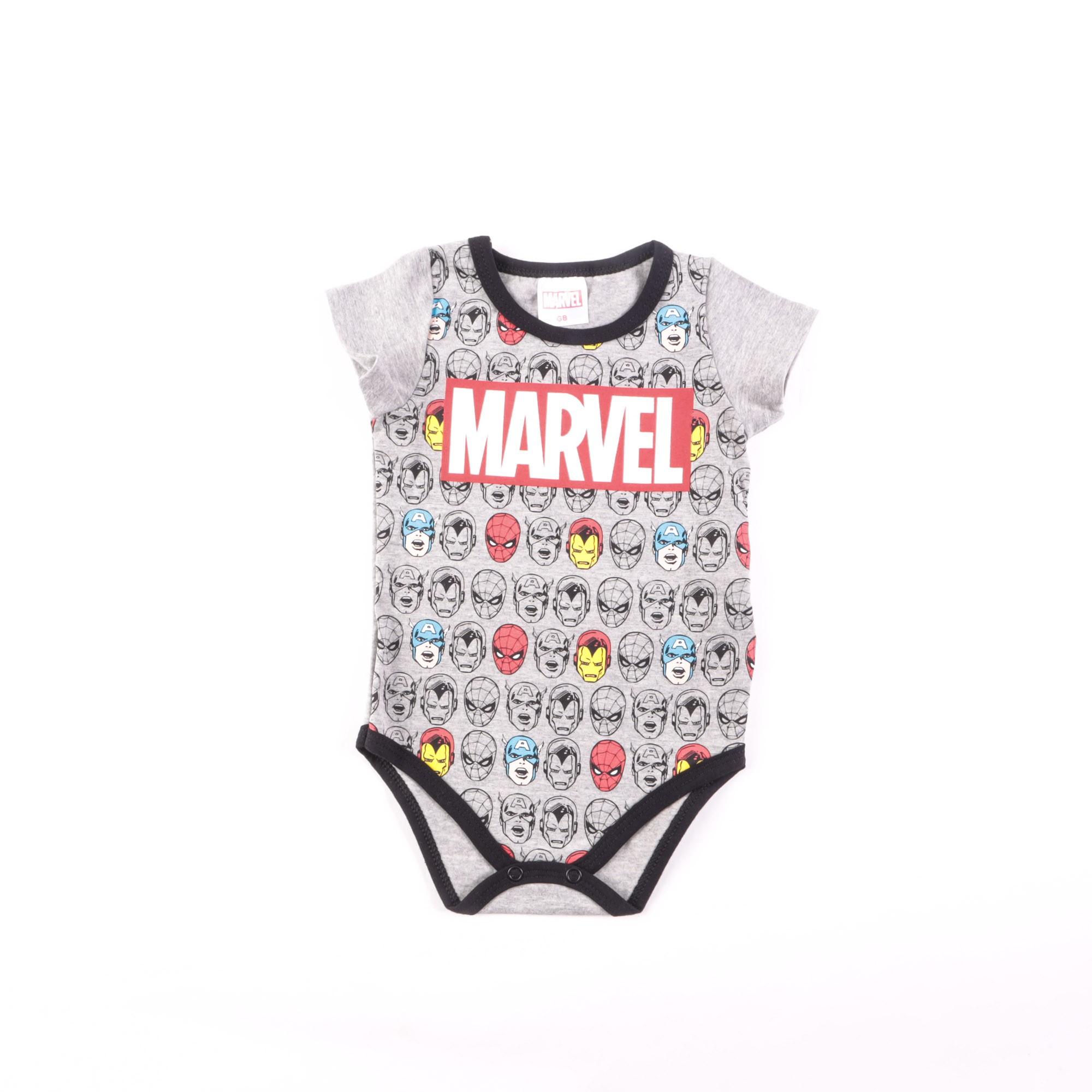 Body Marvel Avengers Bebê P/G - Marlan