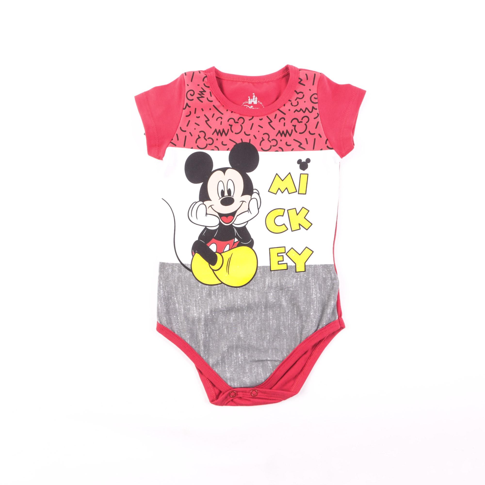 Body Mickey Infanil - Marlan