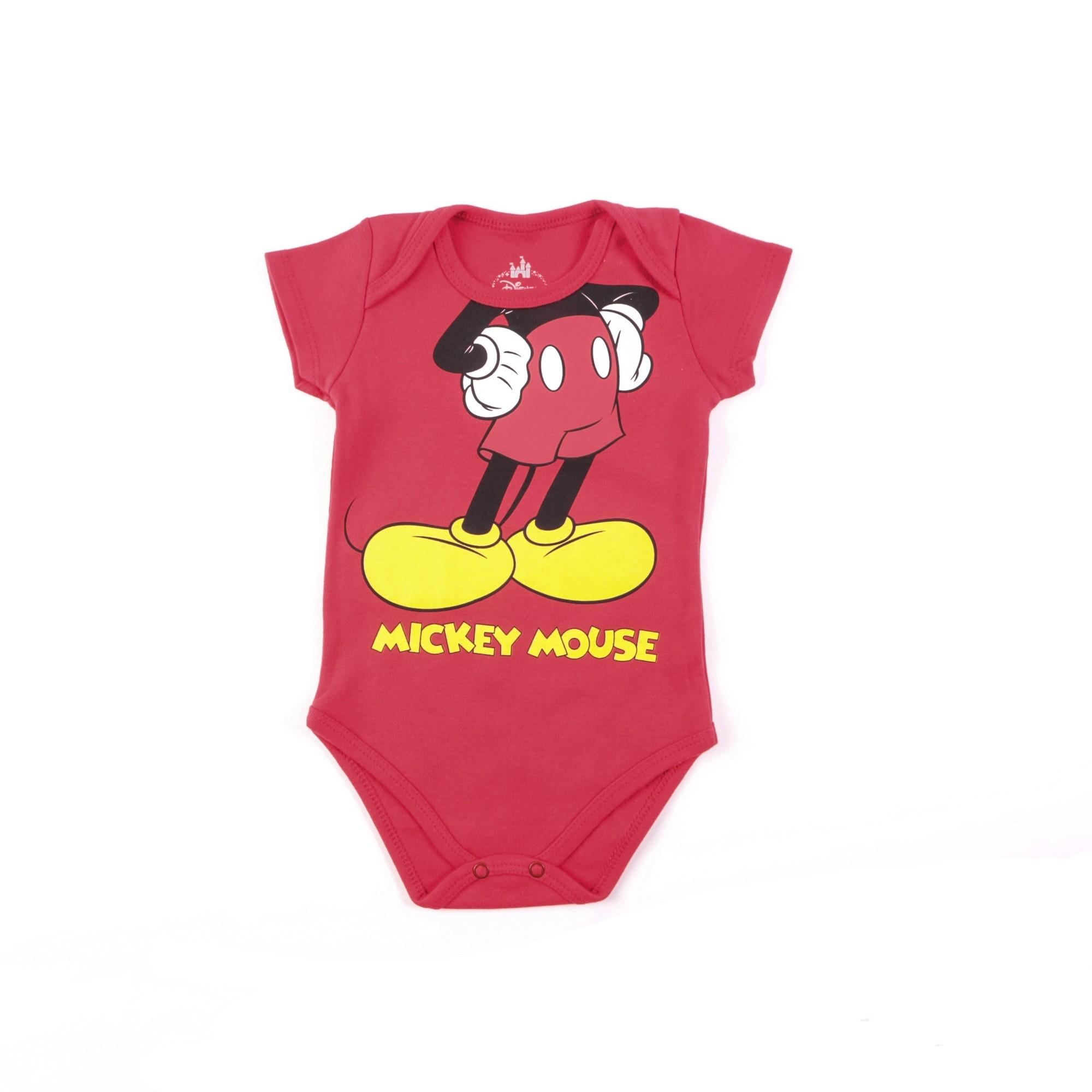 Body Mickey Mouse Bebê - Marlan