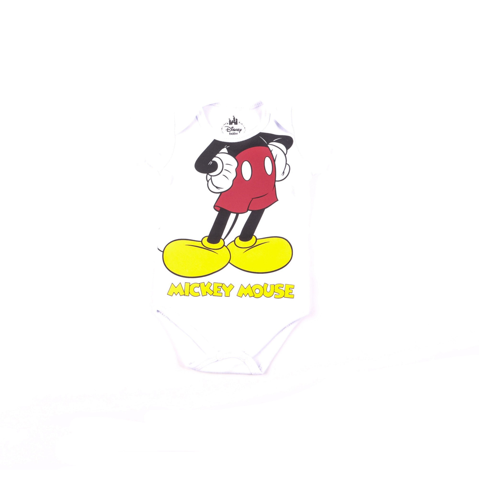 Body Mickey Mouse Infantil 1/3 - Marlan