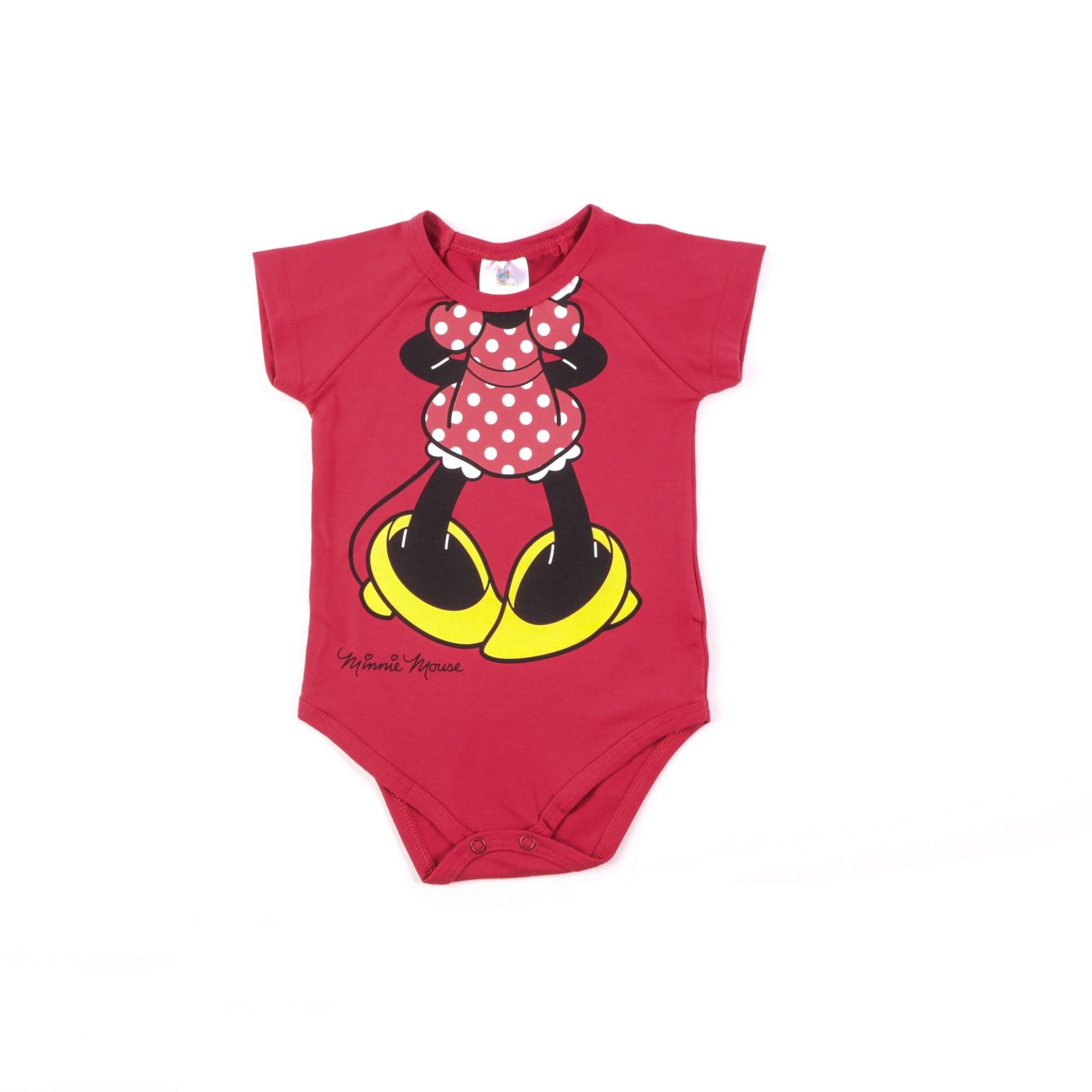 Body Minnie Bebê M/G - Marlan