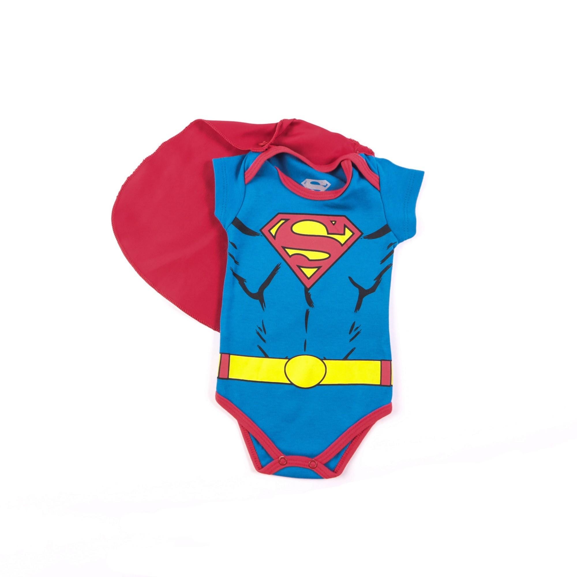 Body Superman Com Capa M/G - Marlan