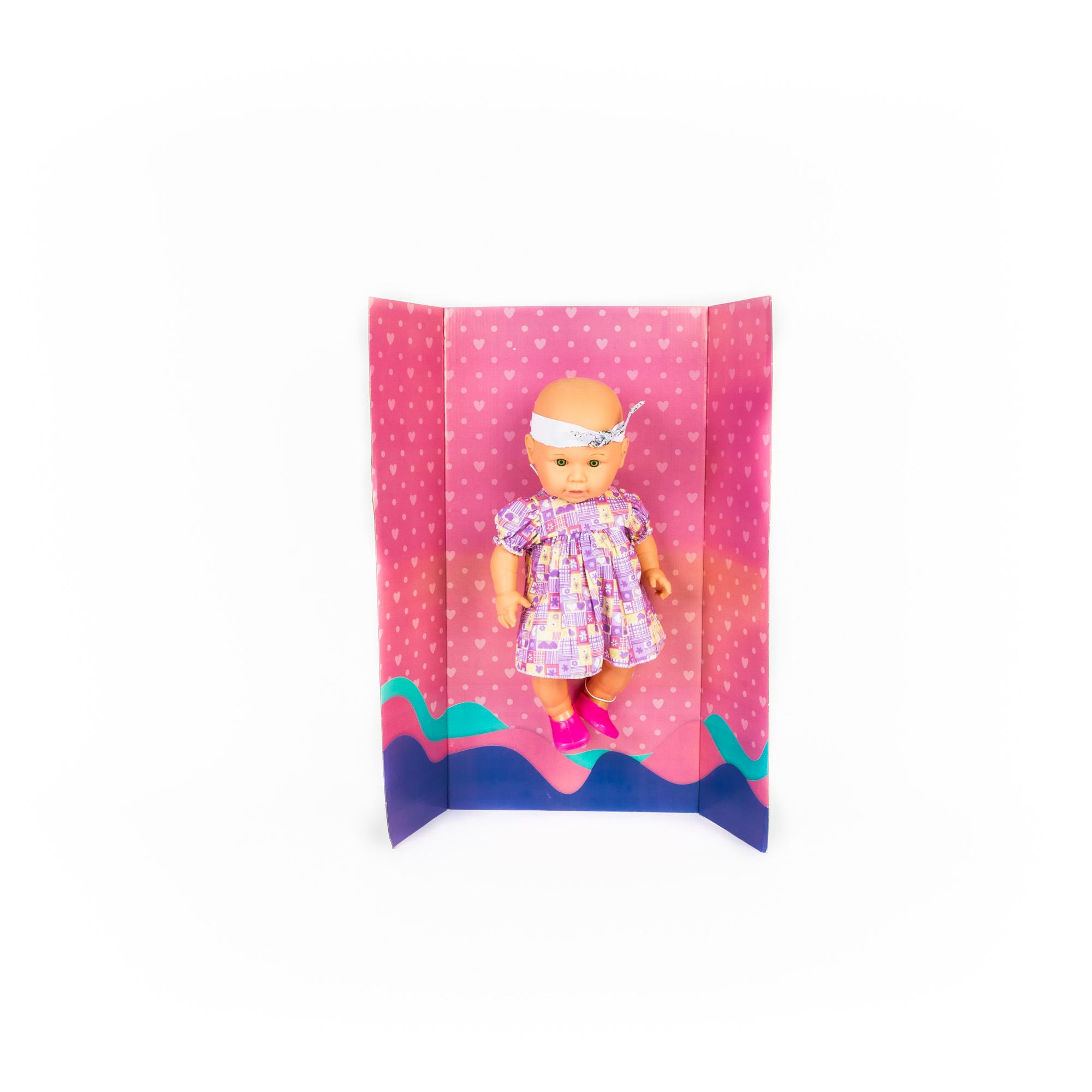 Boneca Baby Carinho Mundo Mágico- Xplast