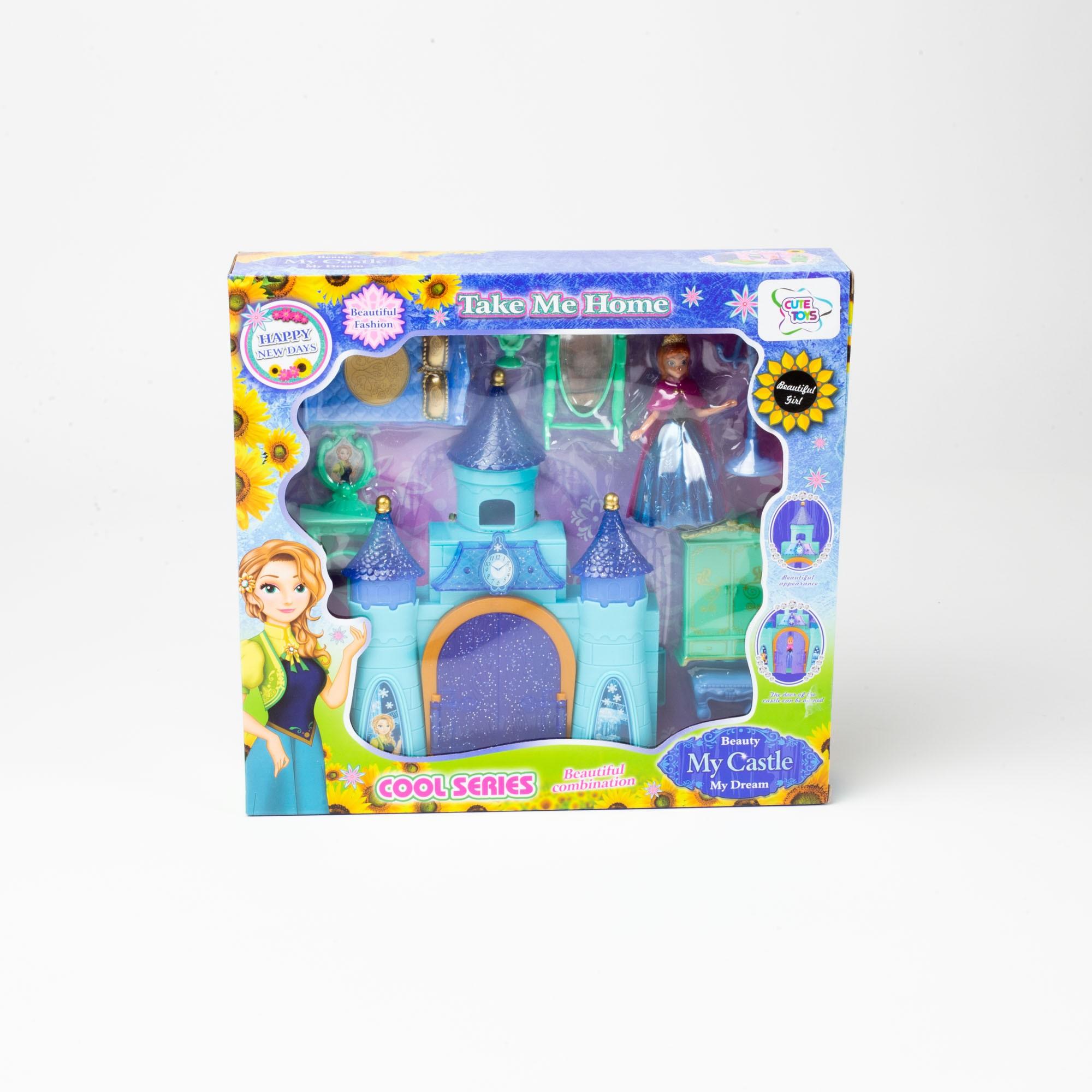 Brinquedo Infantil Castelo De Boneca