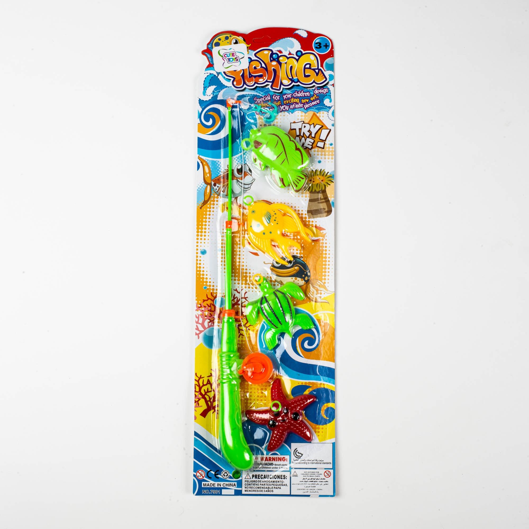 Brinquedo Infantil Kit Pescaria