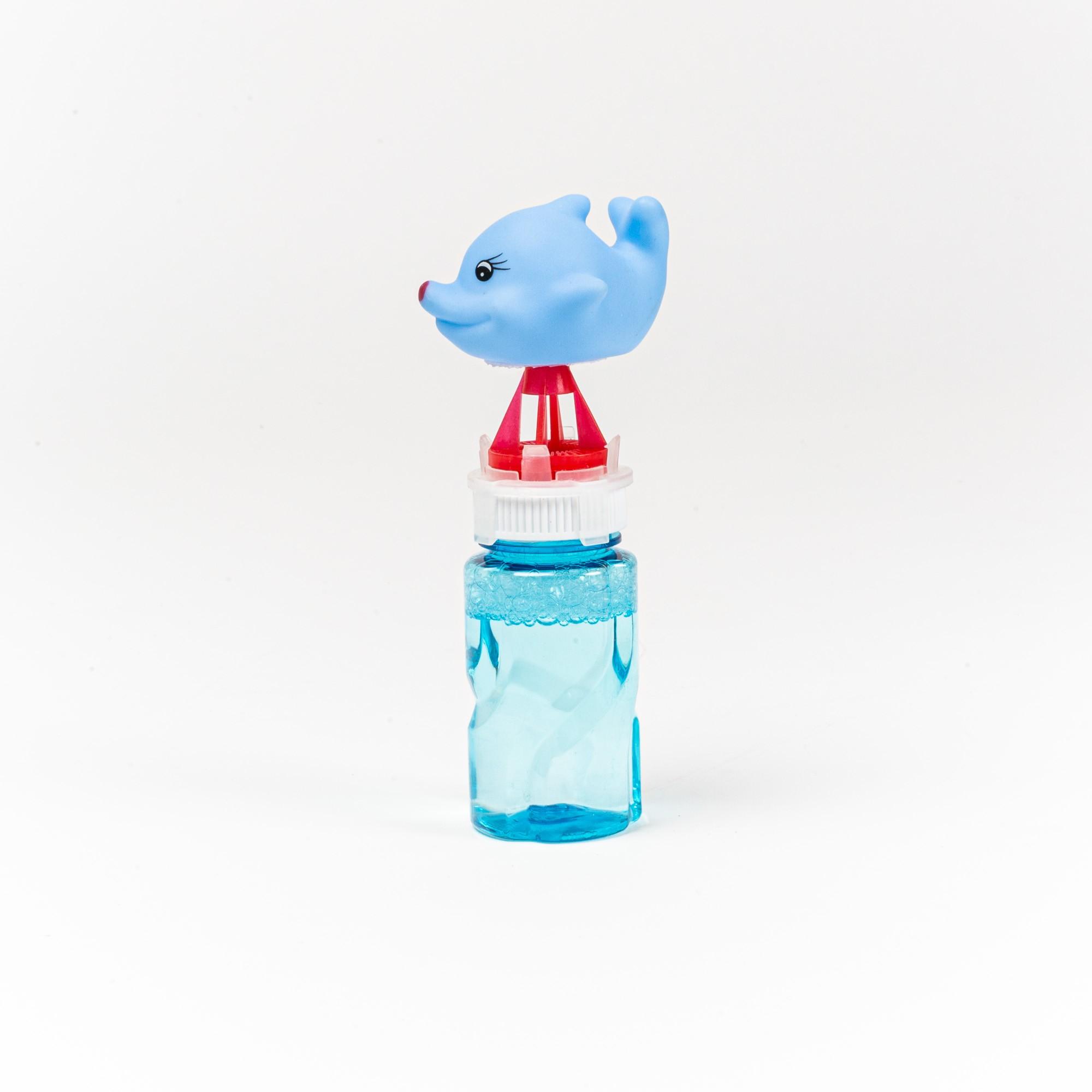 Brinquedo Infantil Lança Bolhas De Sabão