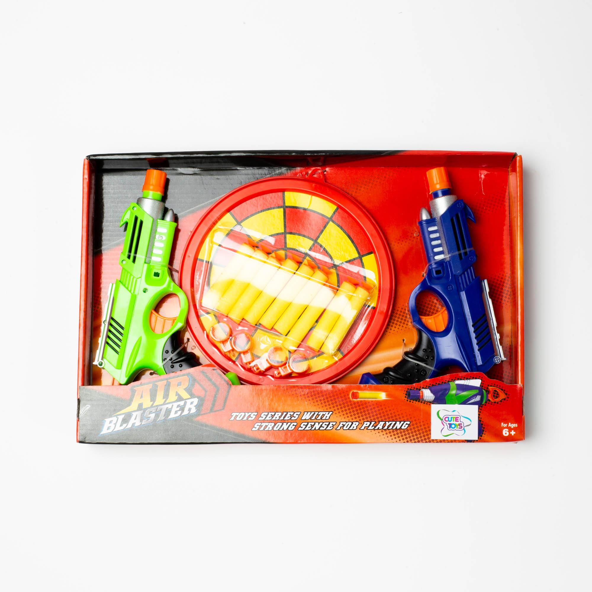 Brinquedo Infantil Pistola Lança Dardo