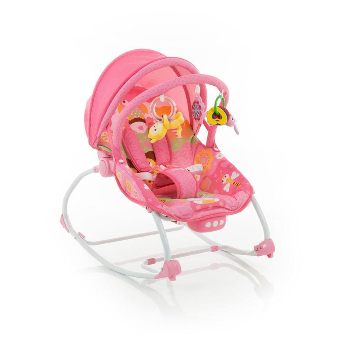 Cadeira de Descanso Sunshine Baby Vibratória Pink 1st - Safety