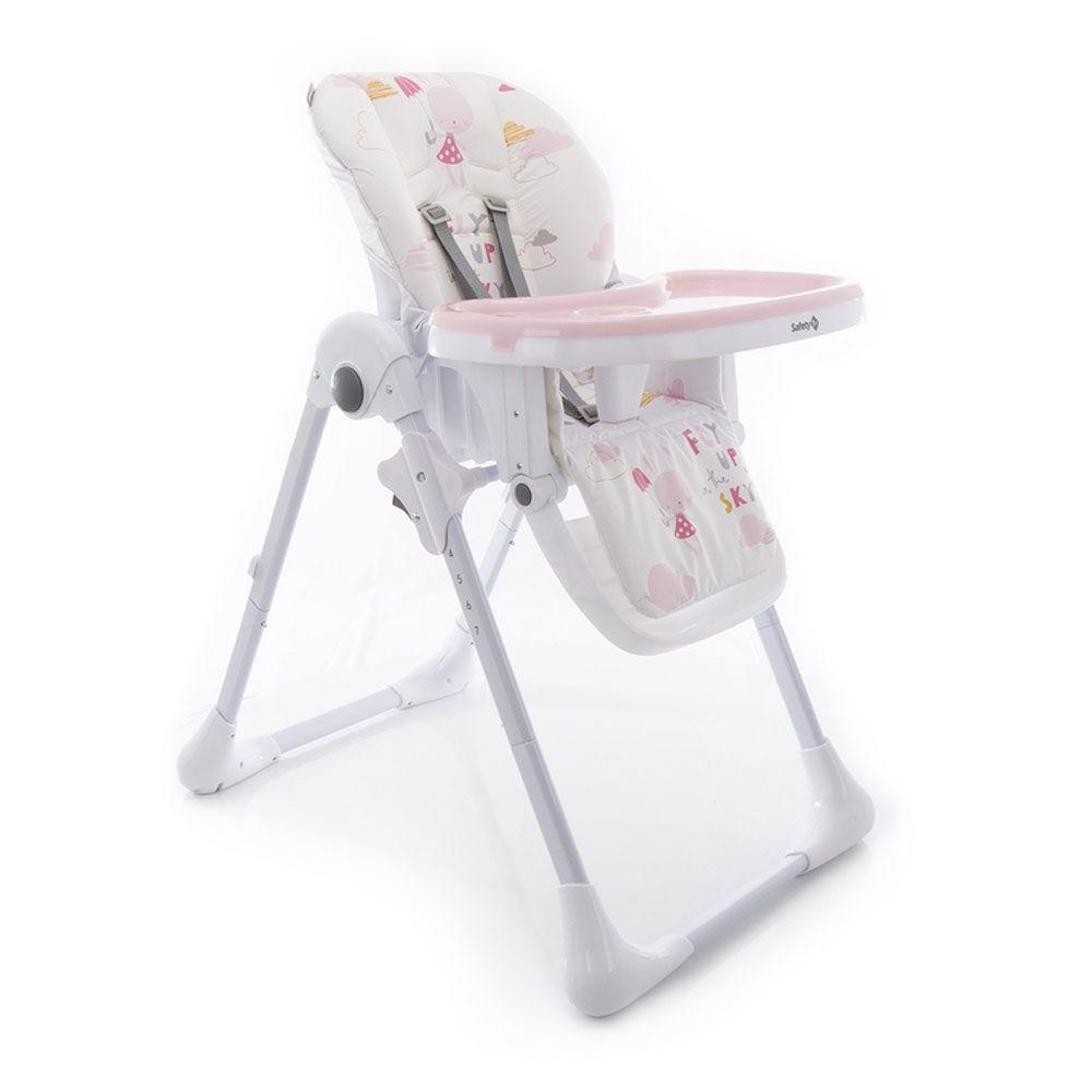 Cadeira Refeição Estampa Rosa - Safety