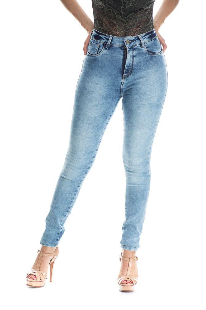 Calça Jeans Estonada Clara
