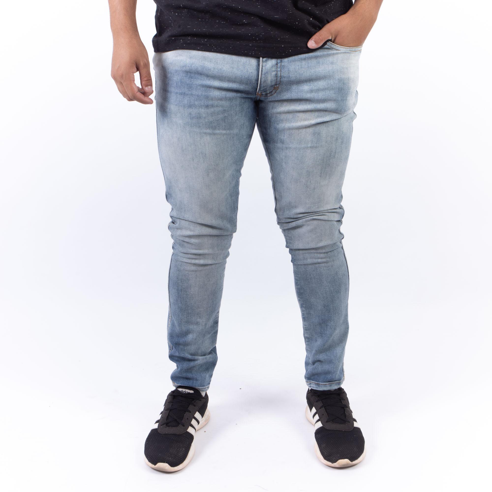 Calça Jeans Skinny Marmorizada -Ecko Unltd