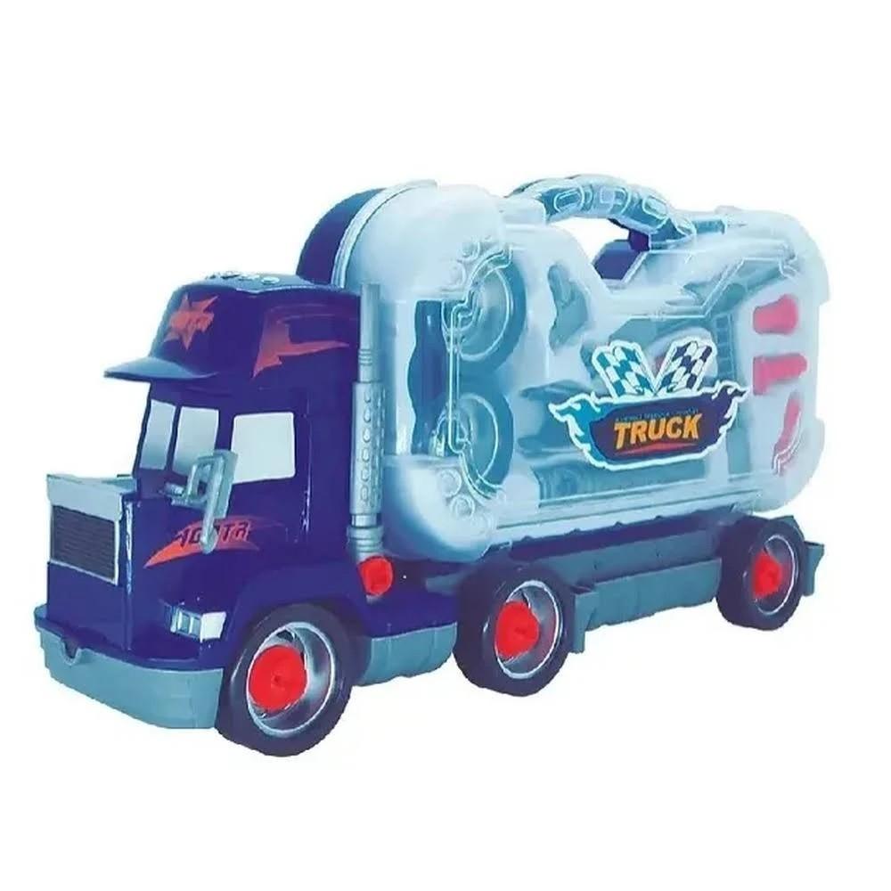 Caminhão Brinquedo Desmontável Com Maleta