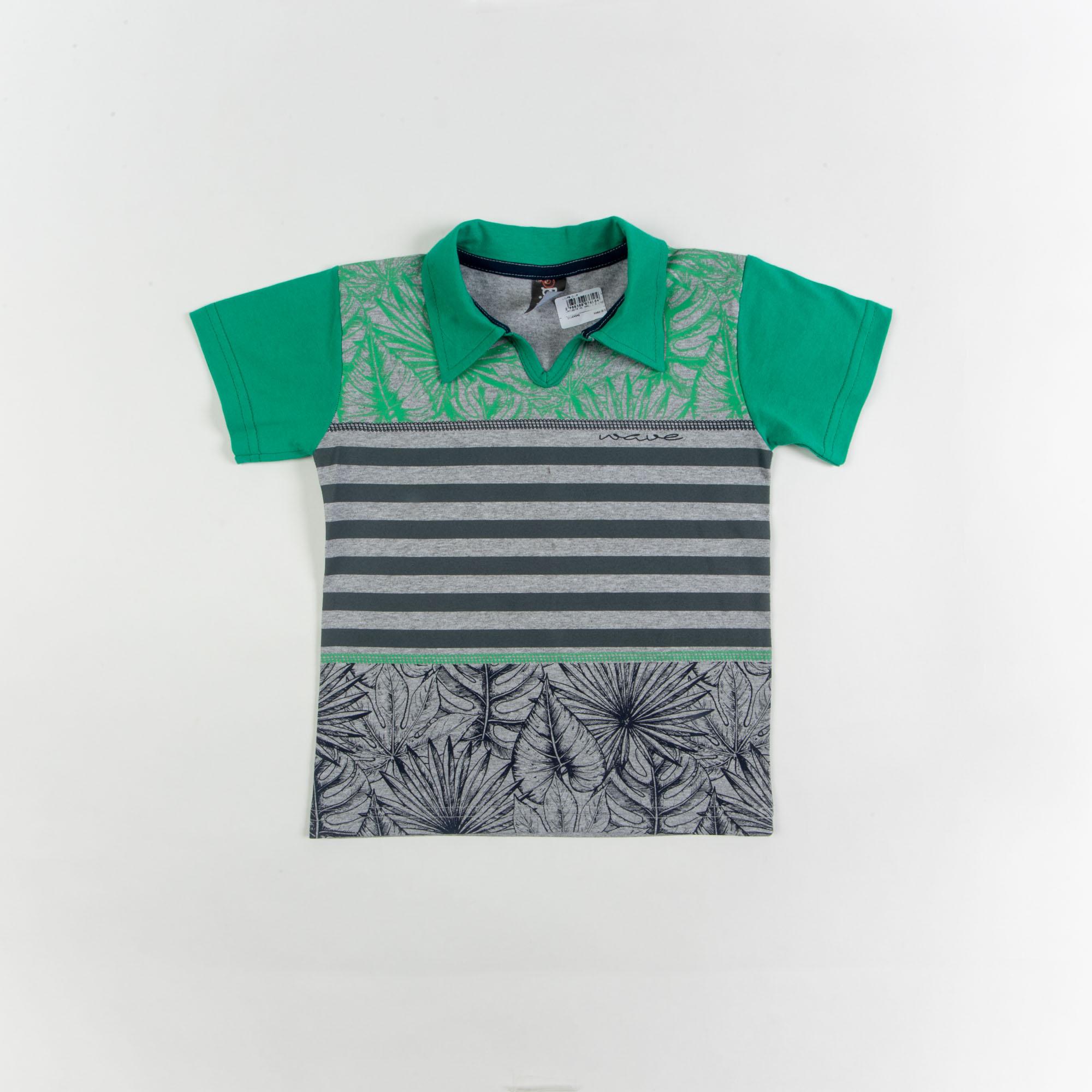 Camisa Básica Polo Infantil