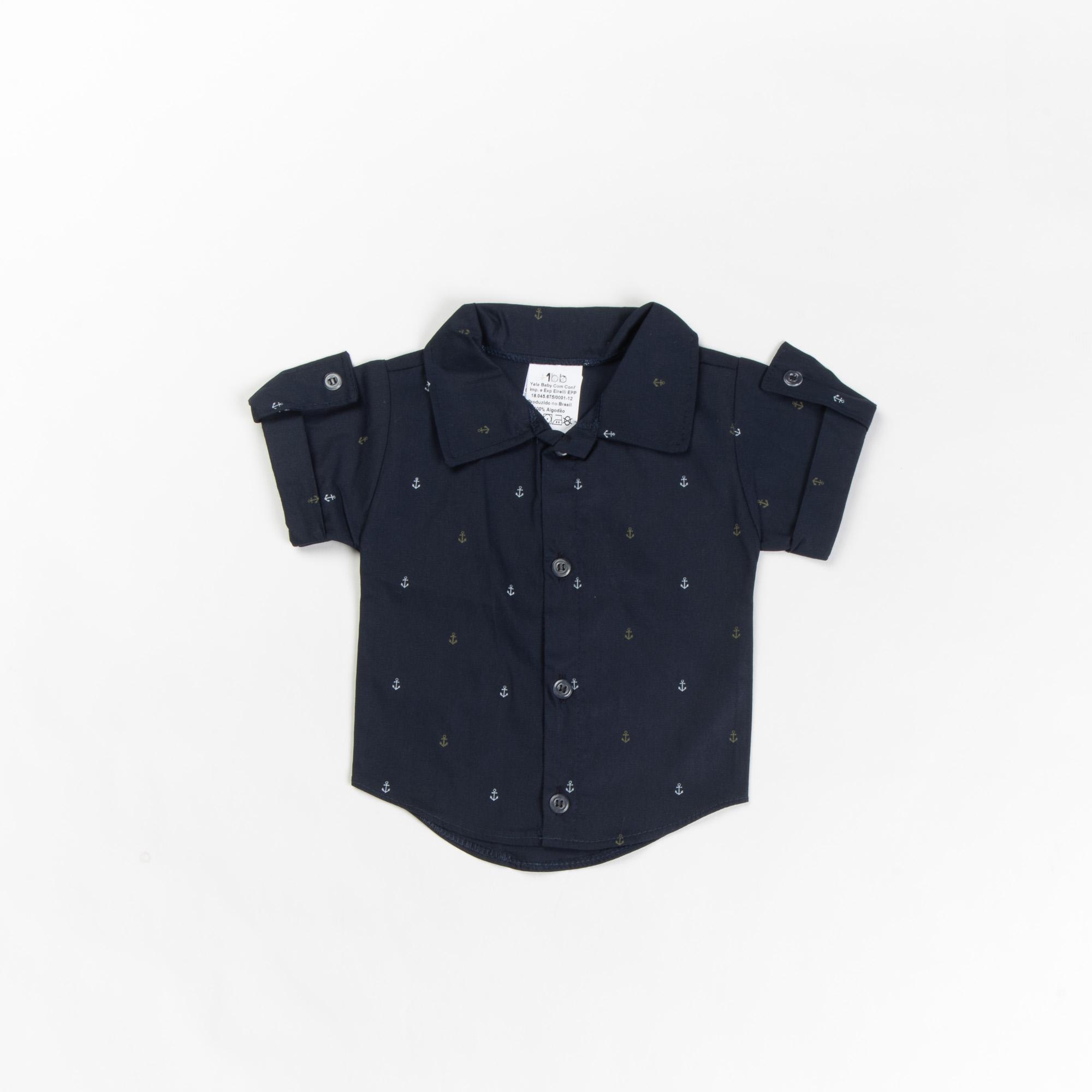 Camisa De Bebê Manga Curta P/G