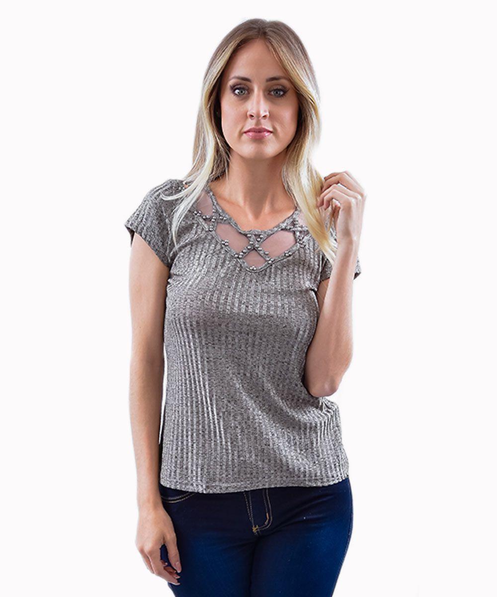 9df70c635 blusa de renda manga longa ellabelle feminino branco - Camisas - De ...