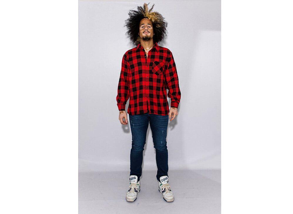 Camisa Masculina Flanelada Xadrez
