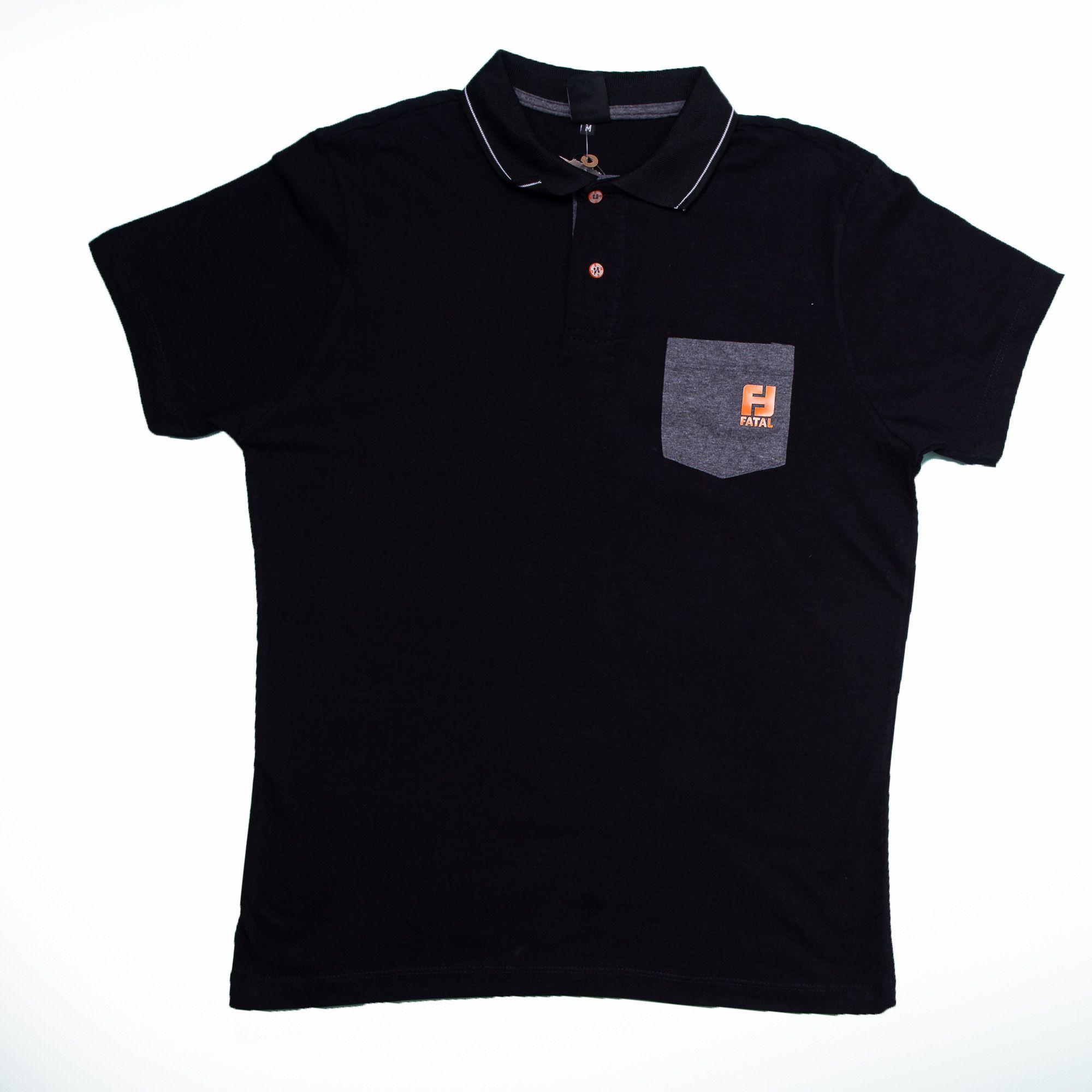 Camisa Polo Masculina Fata De Malha - Fatal
