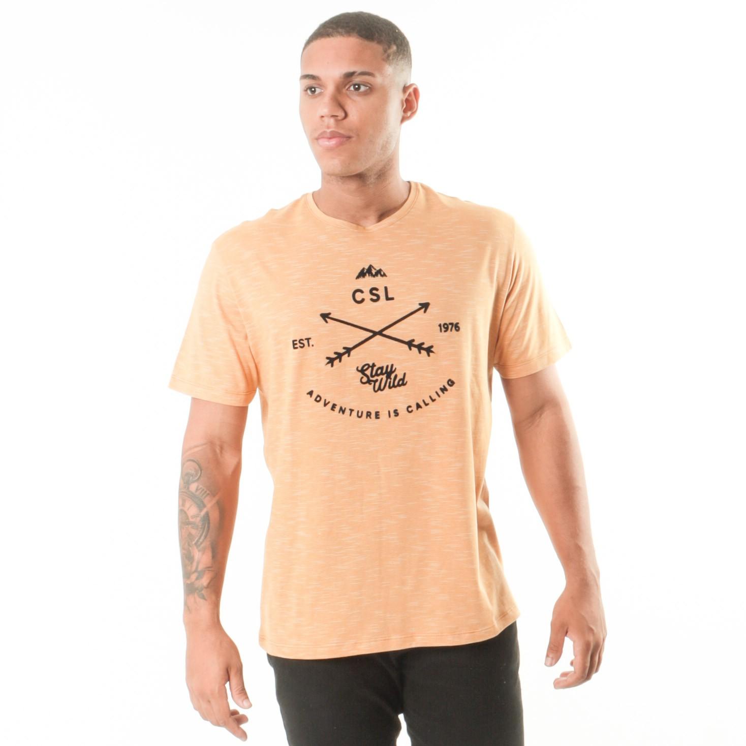 Camiseta Amarelo Stay Wild