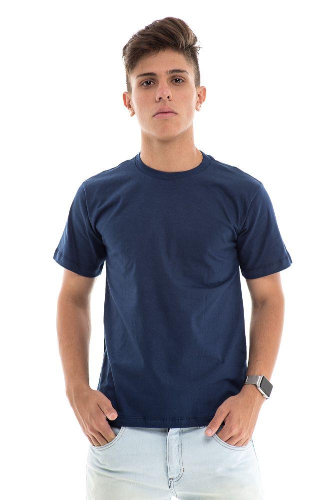 Camiseta Básica Lisa Algodão