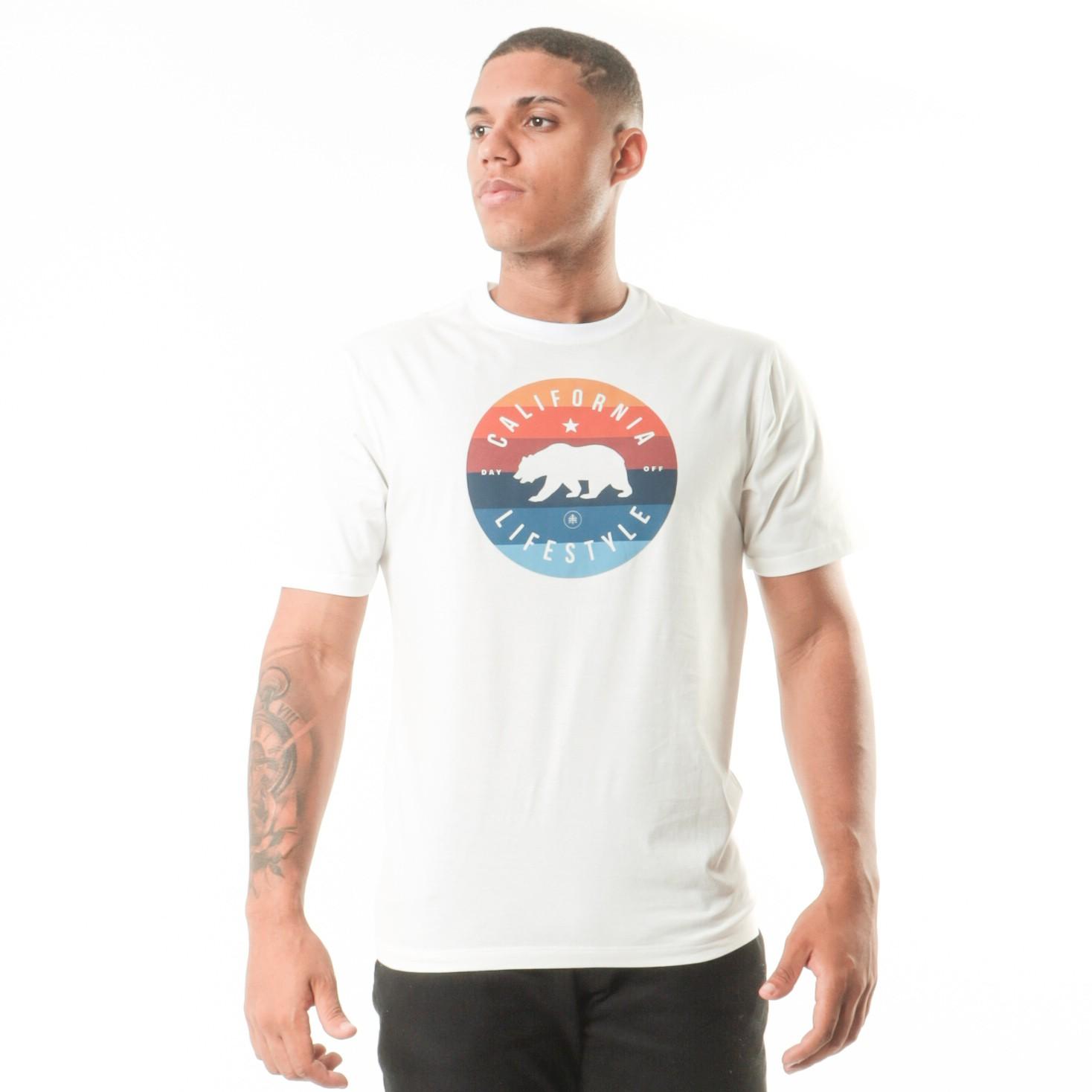 Camiseta Branca California