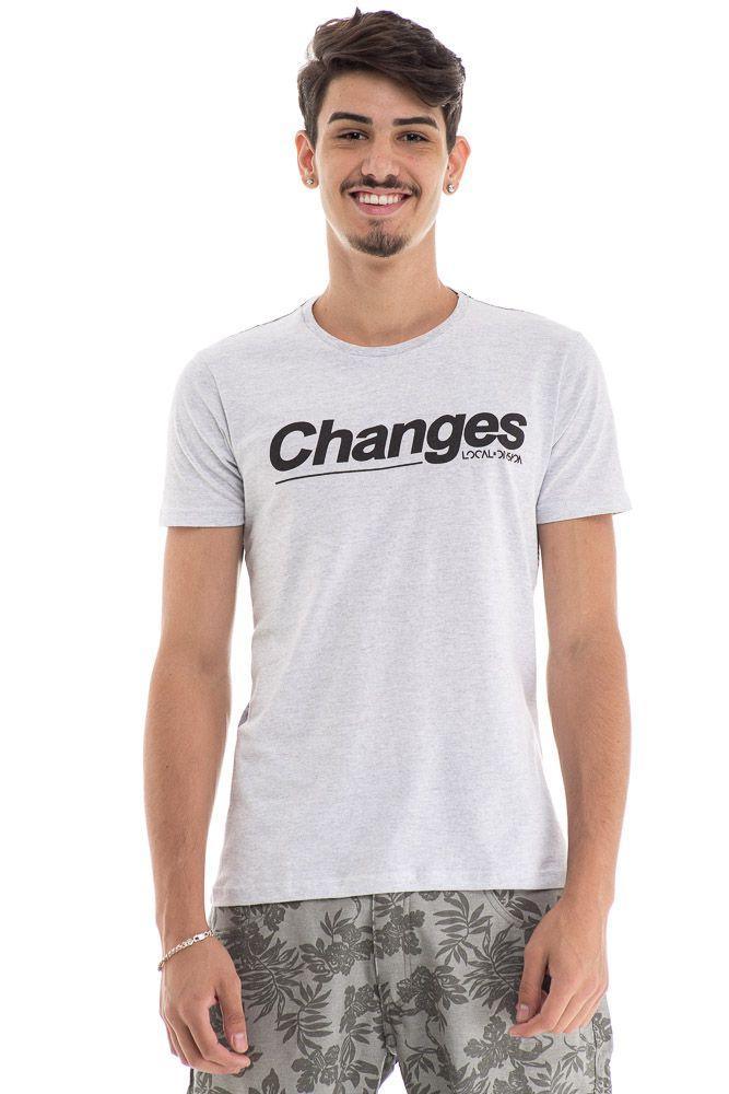 Camiseta Changues Estampa Costas total