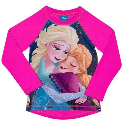 Camiseta De Praia Estampa Frozen - Tip Top