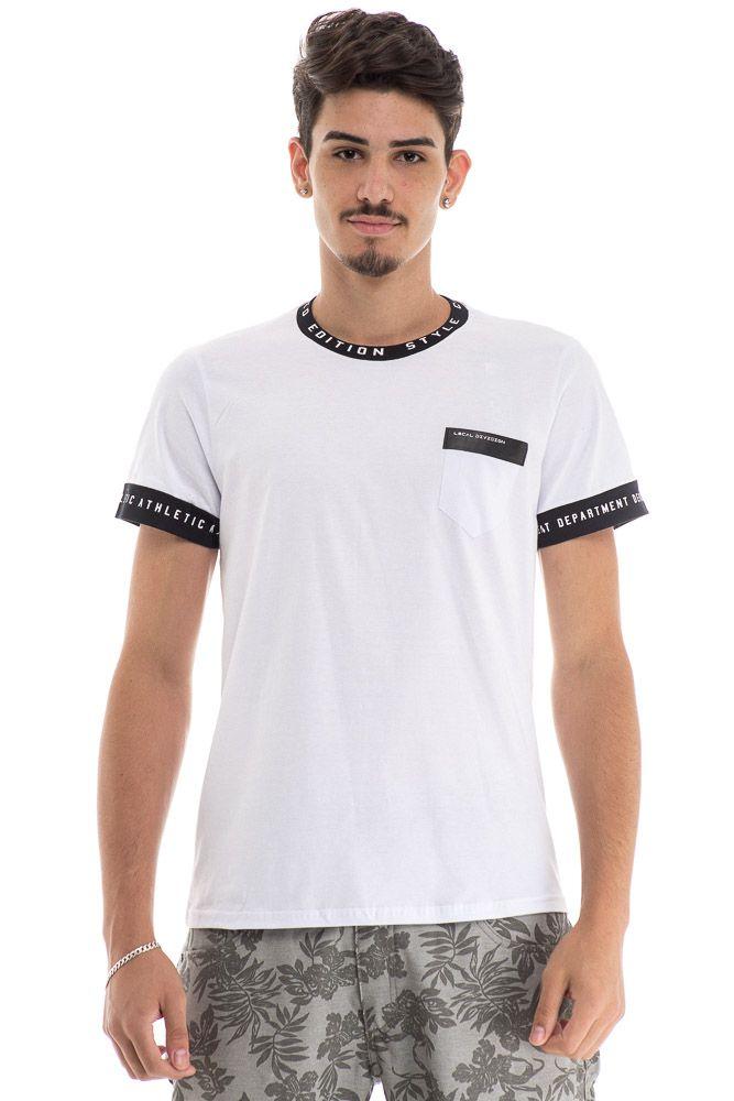 Camiseta Detalhe Gola Edition Style
