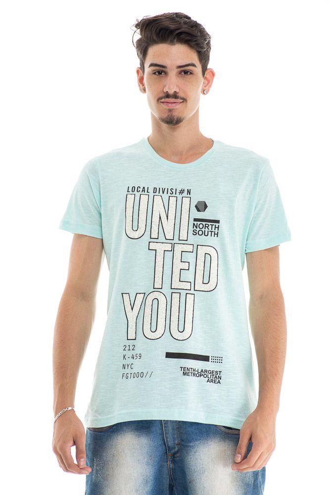 Camiseta estampada UNITED YOU
