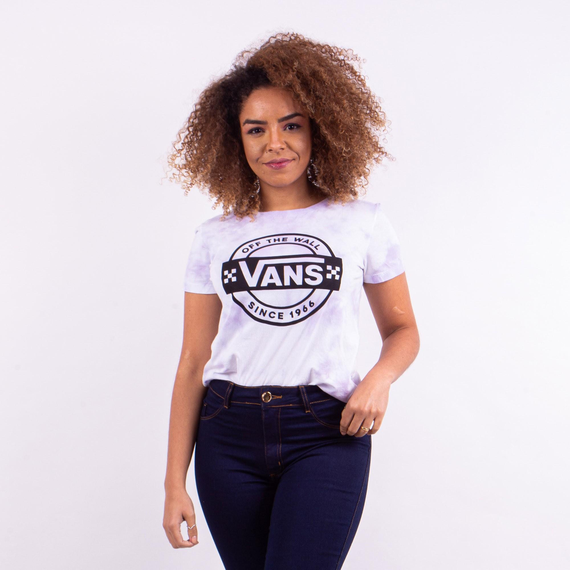 Camiseta  Tie Dye Vans