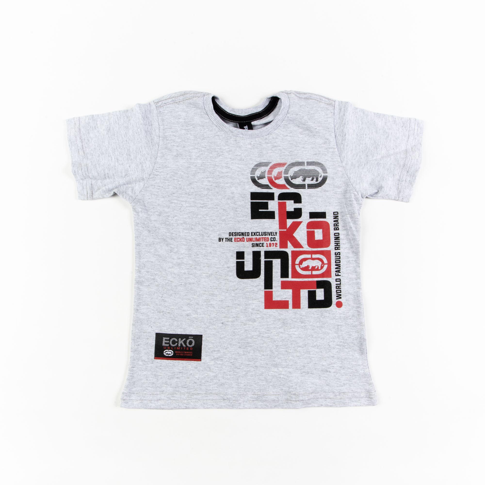 Camiseta Infantil Manga Curta