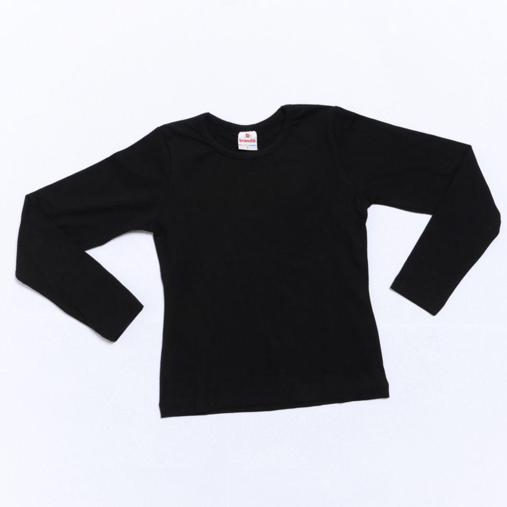 Camiseta Manga Longa Liso - Brandili