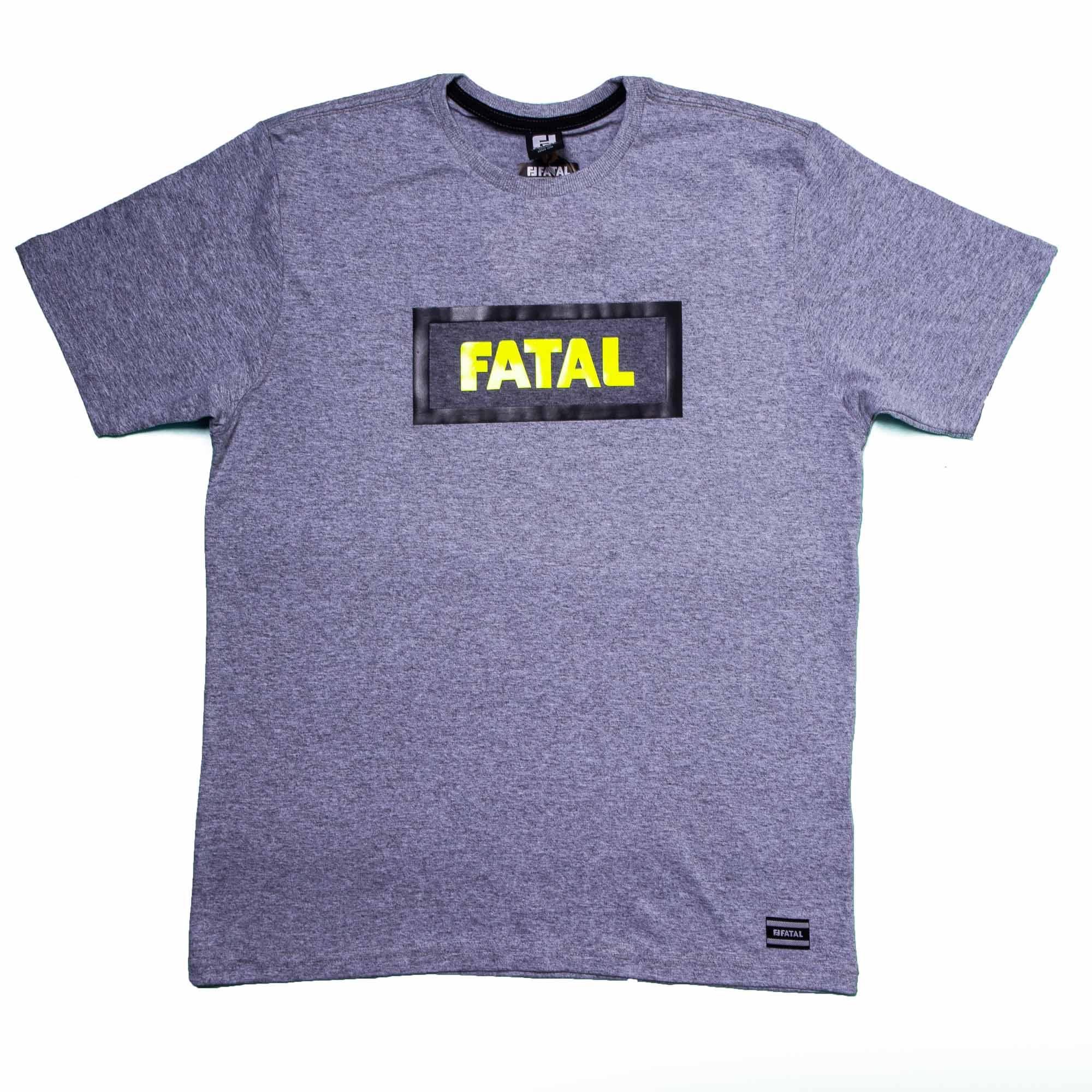 Camiseta Masculina Algodão Cinza Claro  - Fatal