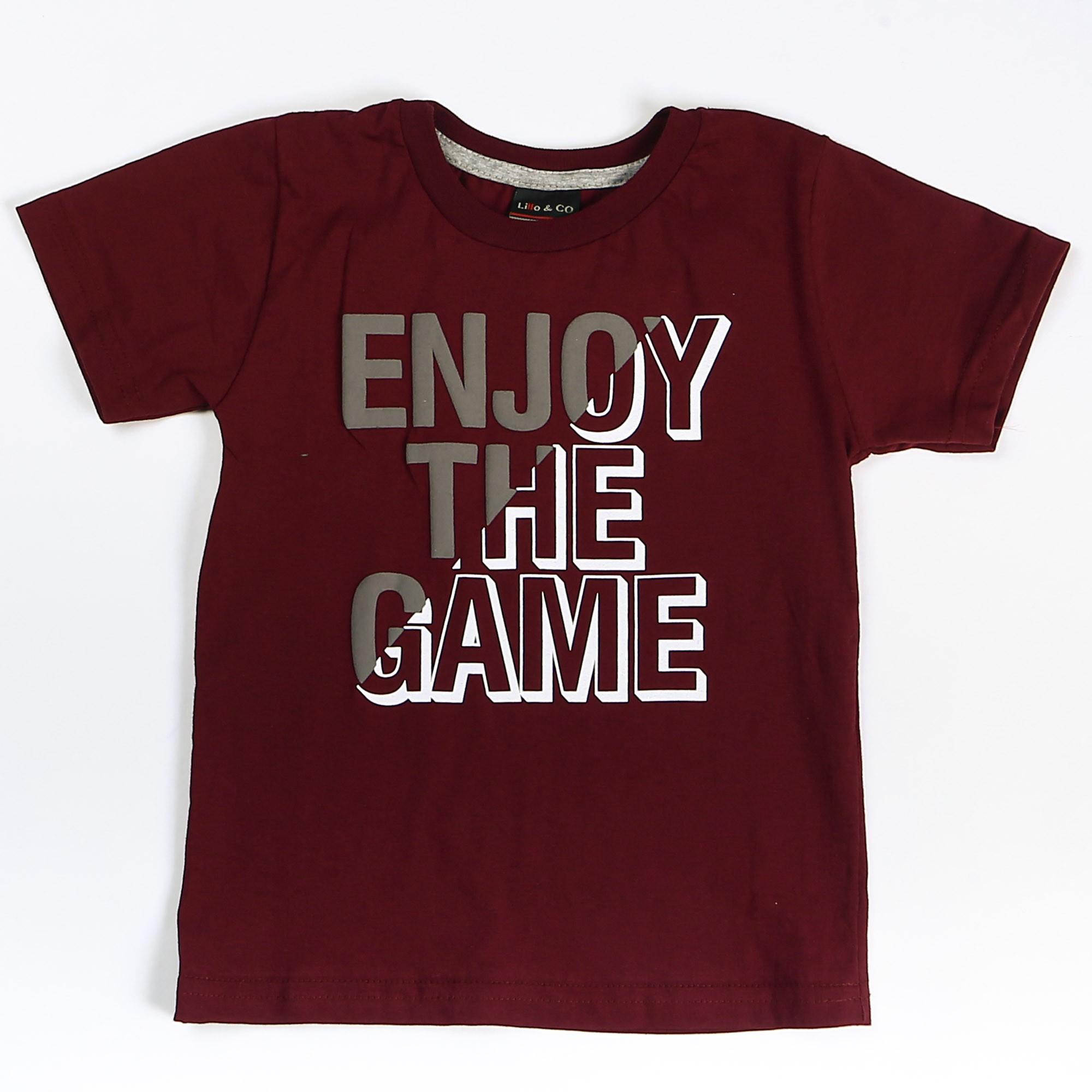 Camiseta Menino Enjoy - Lillo & Co