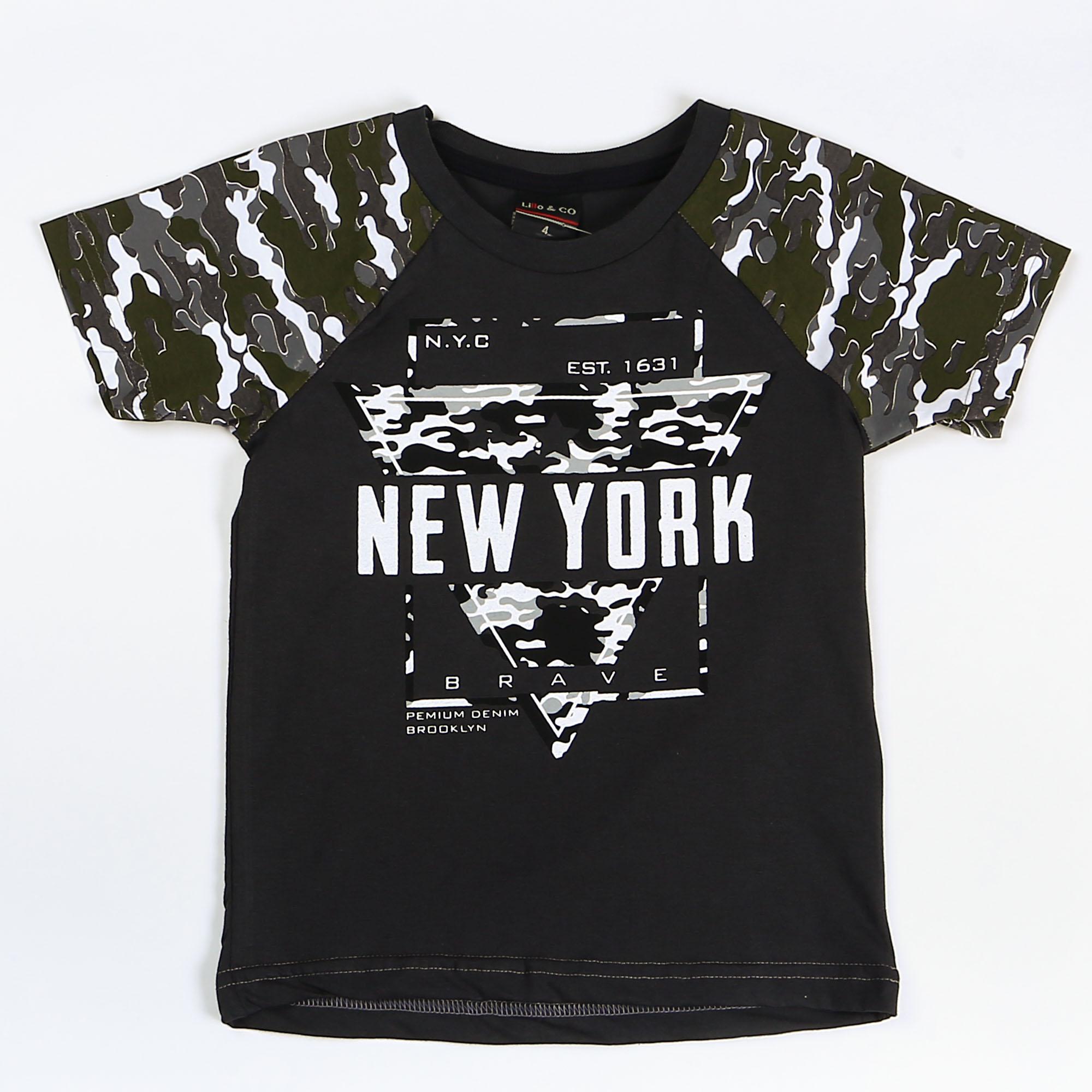 Camiseta Menino New York - Lillo & Co