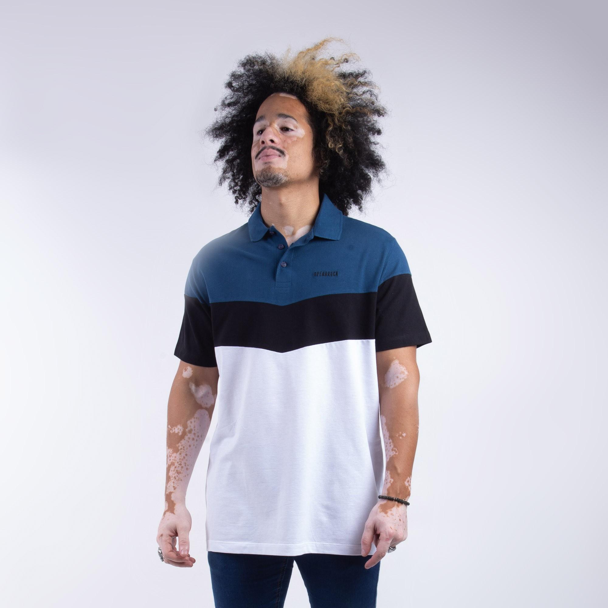 Camiseta Polo Masculina 3 Cores