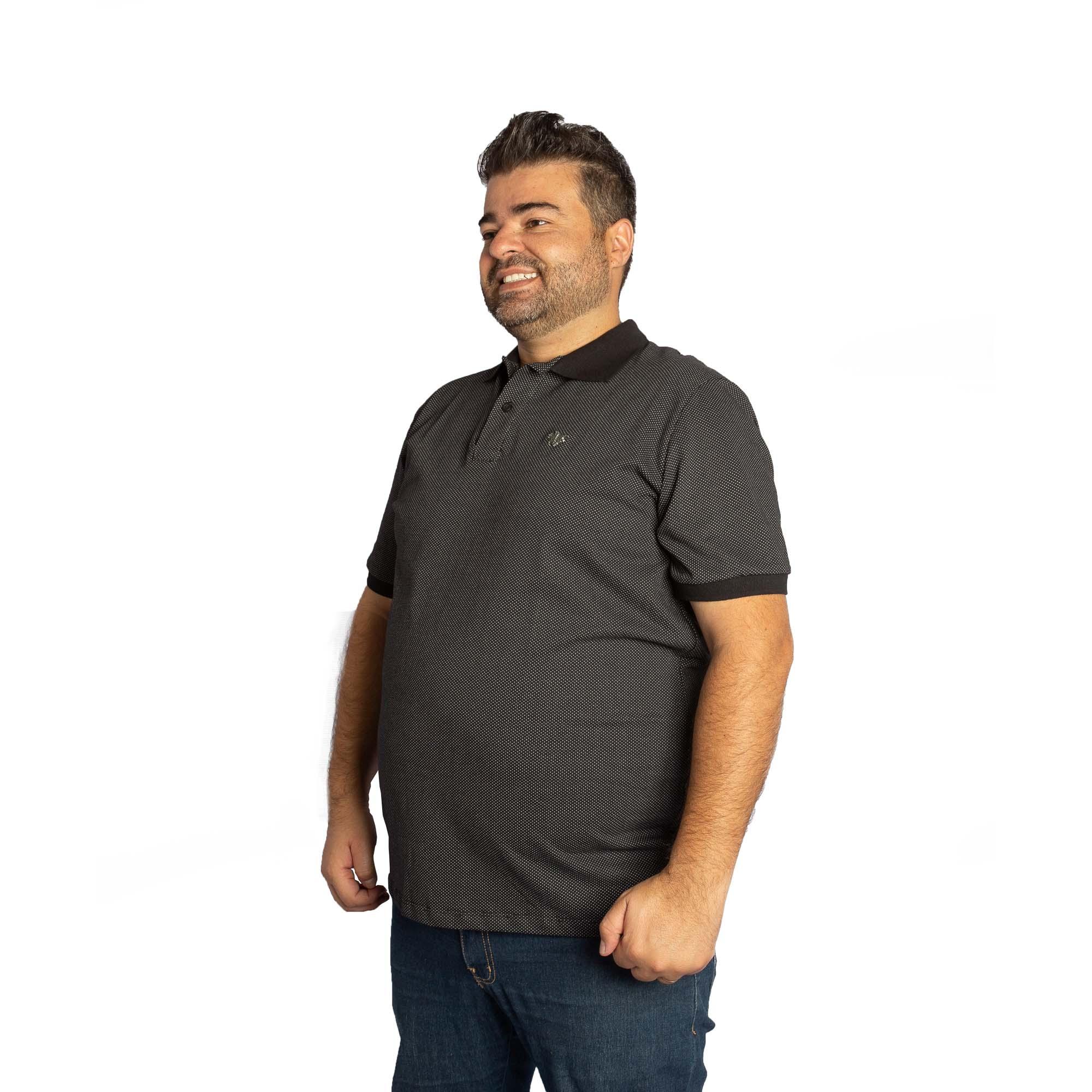 Camiseta Polo Masculina Preto - Polo