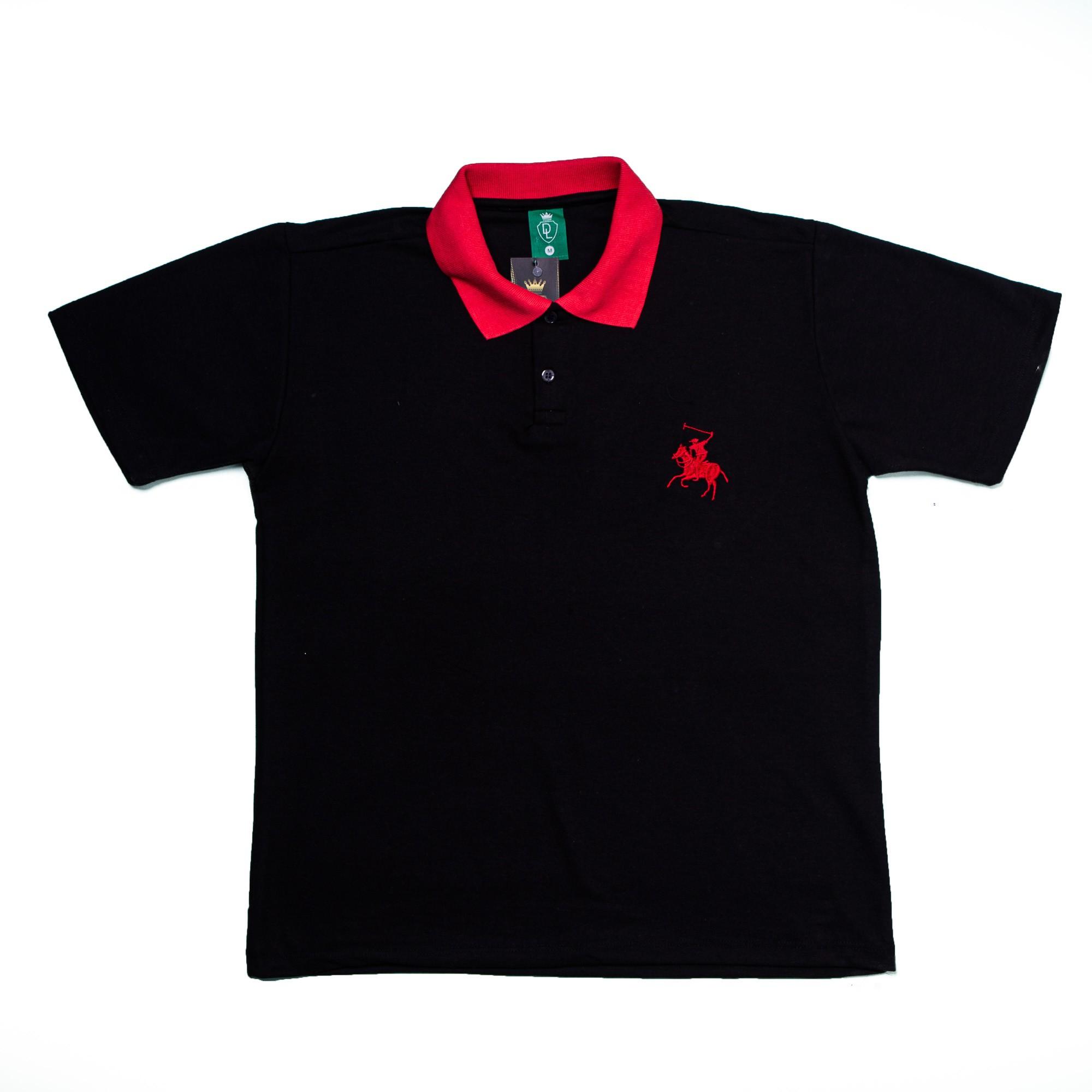 Camiseta Polo Piquet Bordado