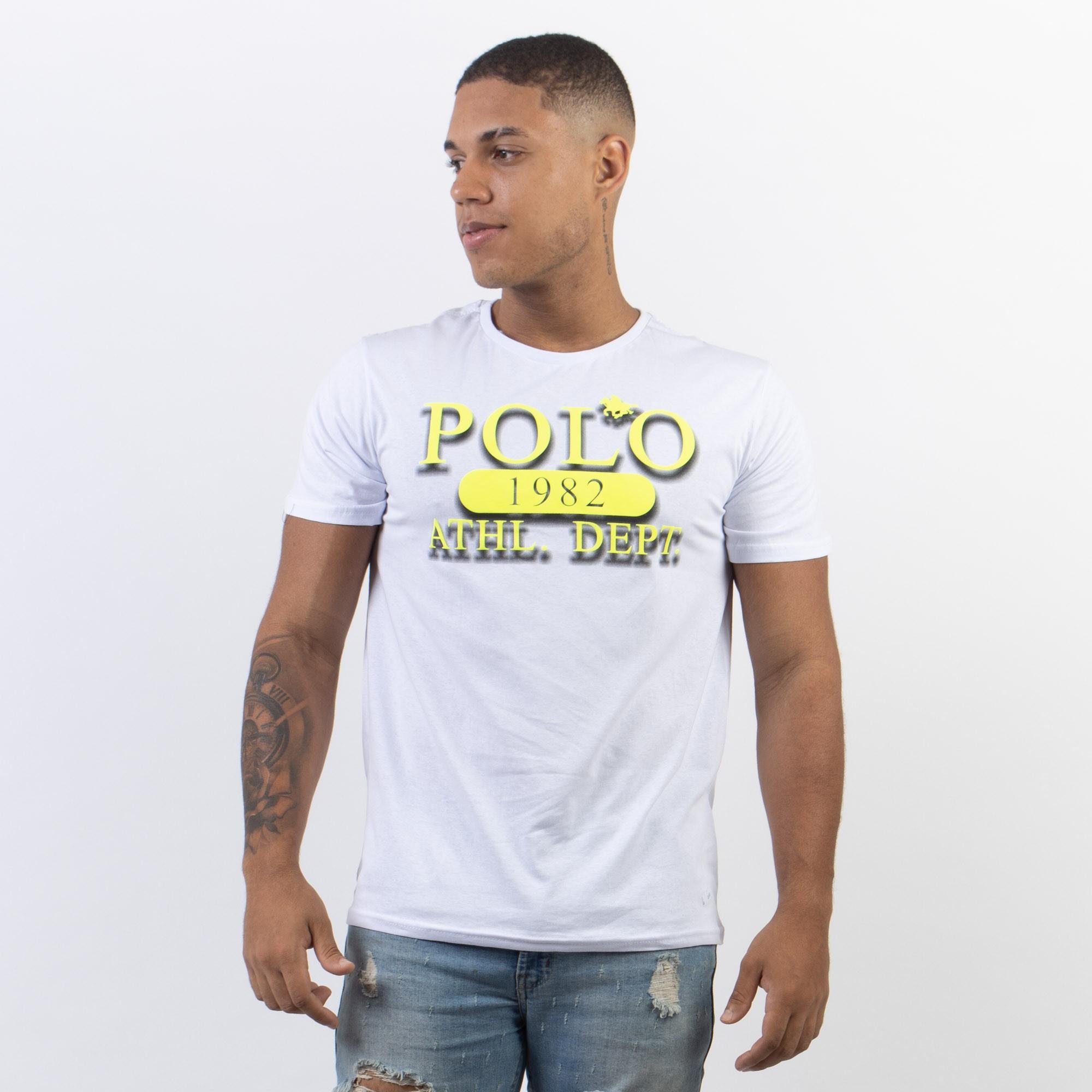 Camiseta RG 518 Polo Neon