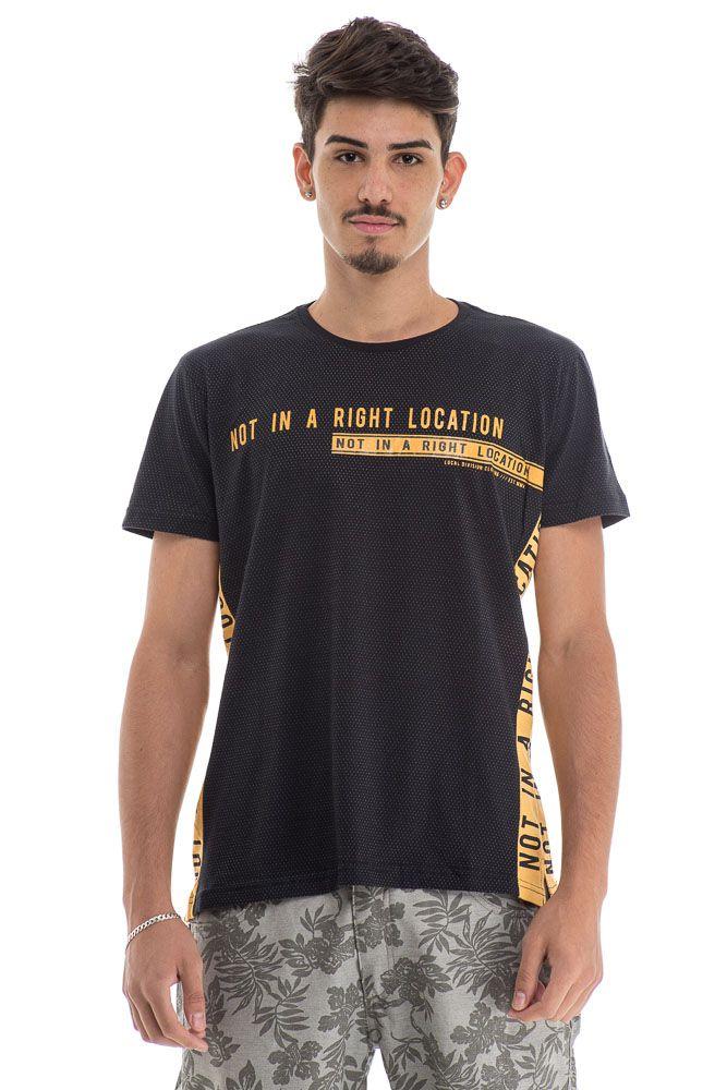 Camiseta Right Location Preta