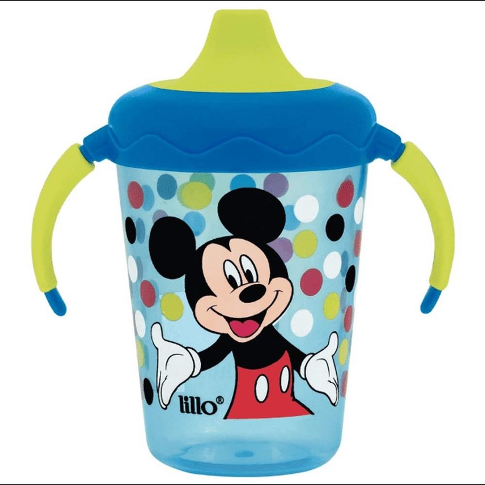 Caneca De Bebê Com Alça Estampa Mickey 207 ML Lillo