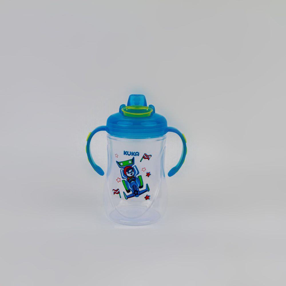 Caneca De Bebê Estampada Menino Azul 300 ML Kuka