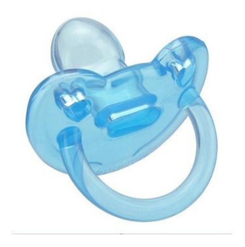 Chupeta de Silicone Soft Azul Kuka