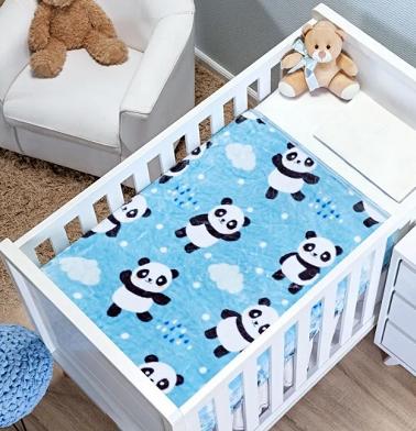 Cobertor Bonno Baby Menino- Etruria