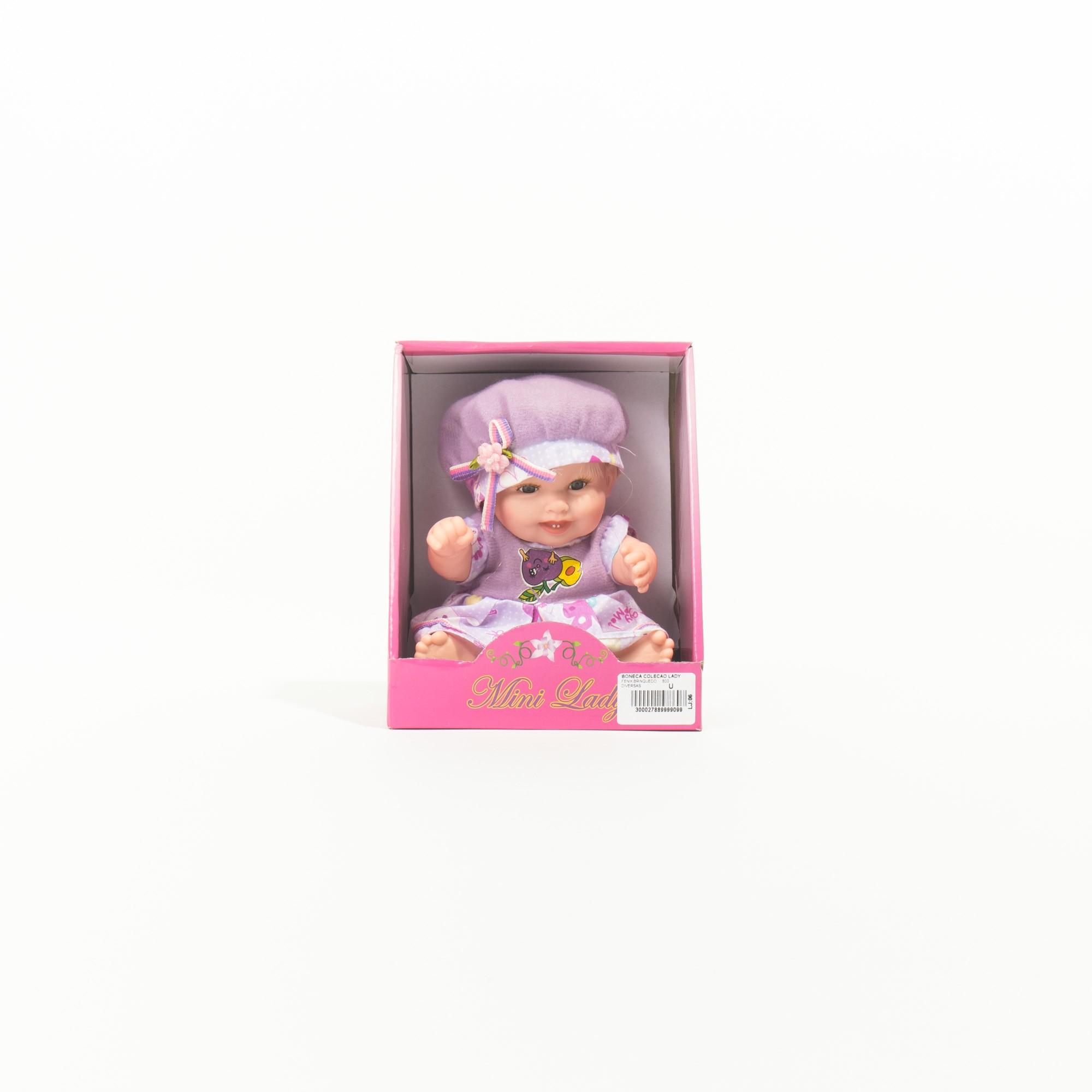 Coleção Mini Boneca Lady -Fenix