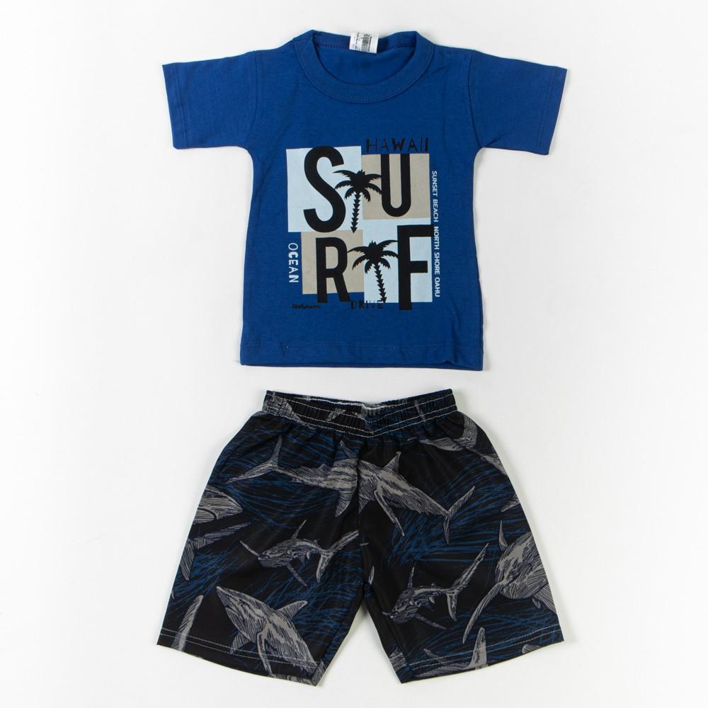 Conjunto Camiseta E Short Tactel Infantil