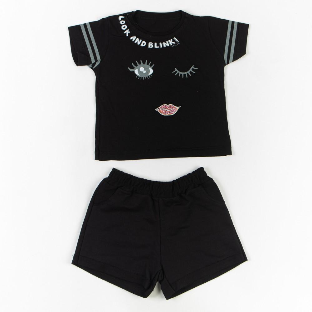 Conjunto Cropped E Short Infantil - Upa Lôo