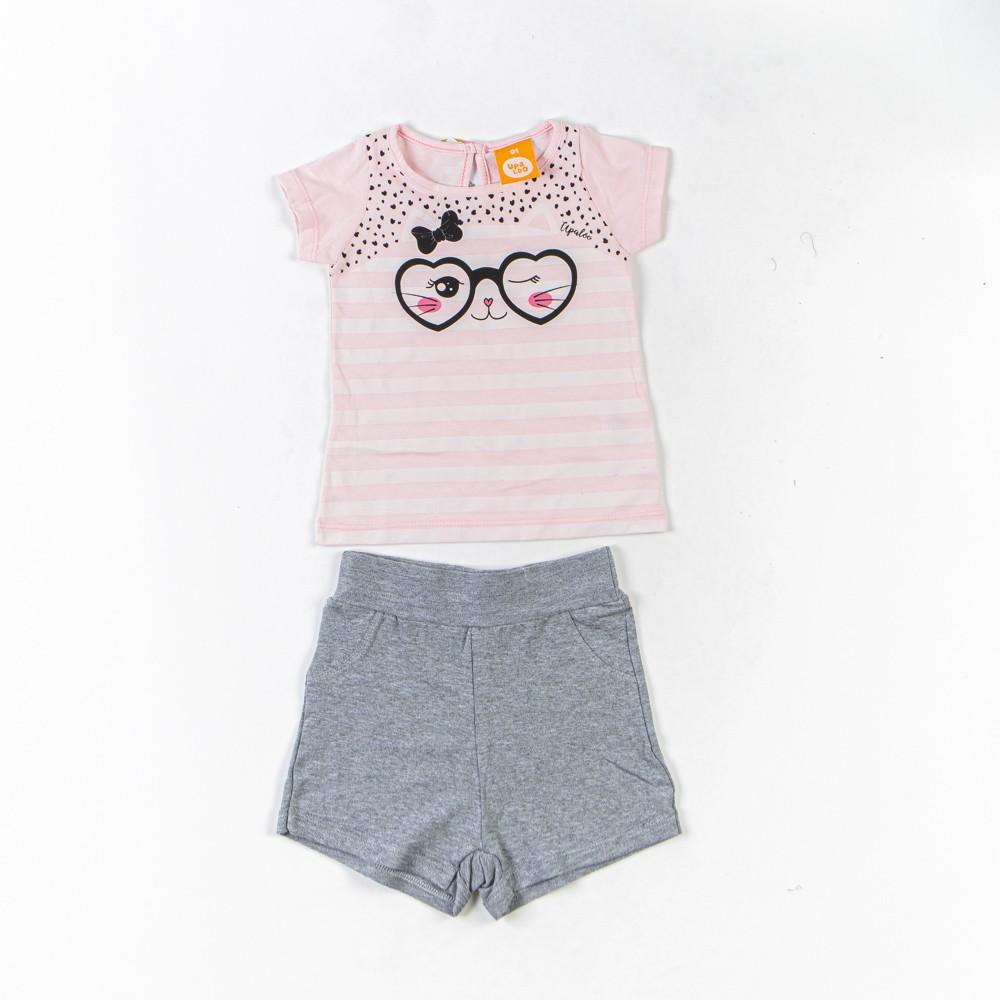 Conjunto Infantil Com Blusinha e Short