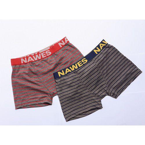 Cueca Boxer Masculina Kit Com 2 Nawes